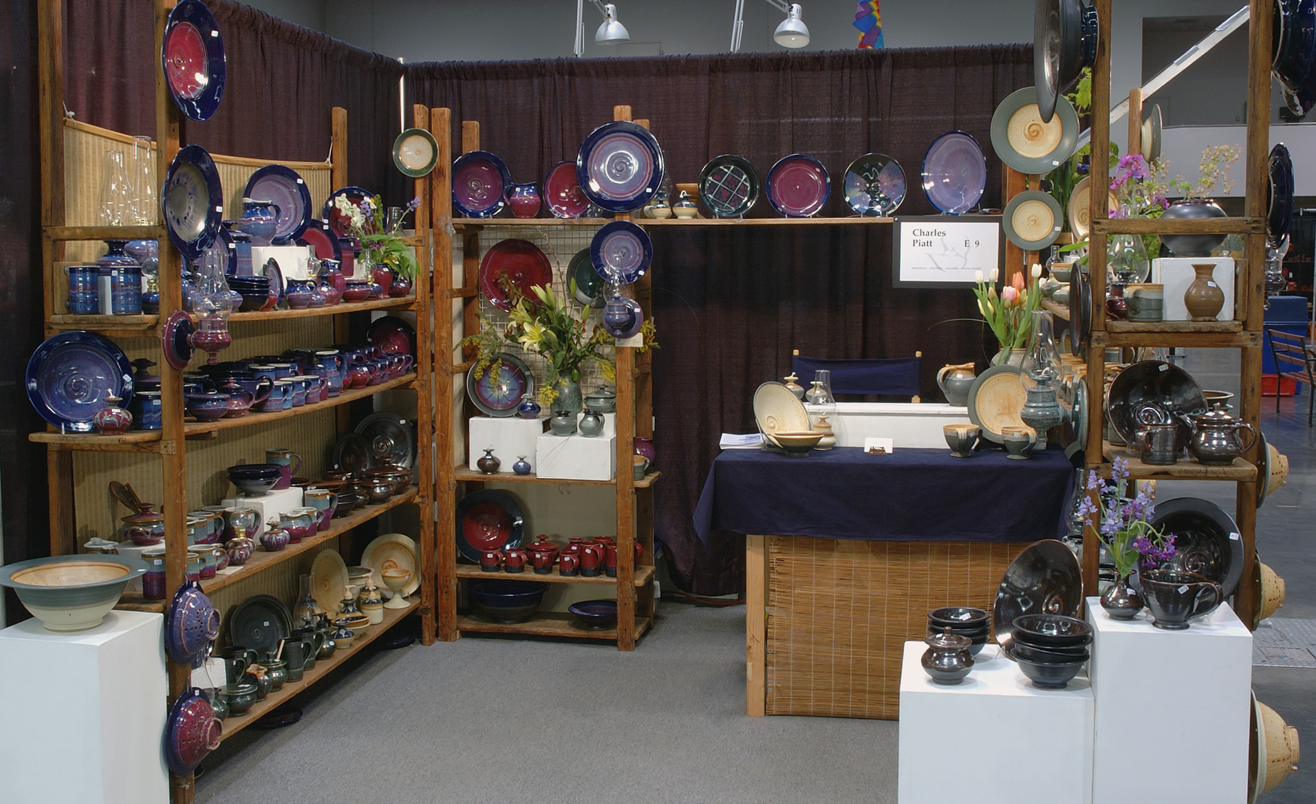 Piatt pottery pacific northwest pottery by charles piatt for Holiday craft fairs portland oregon