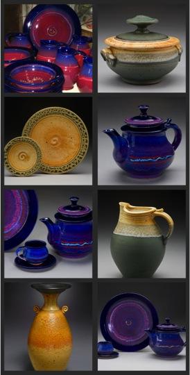 sidebar pottery
